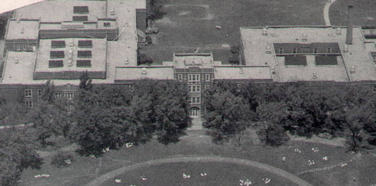 York H.S. as we once knew it.