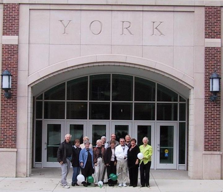 A final farewell from York H.S. on 10/06/02